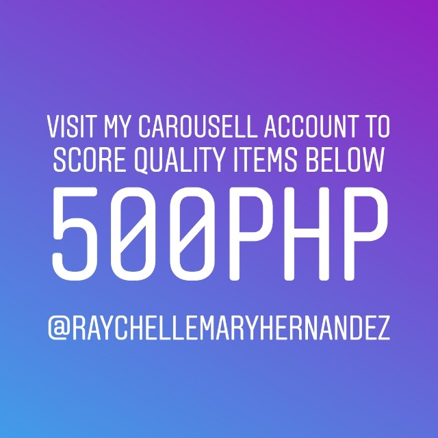 Quality Items below 500php