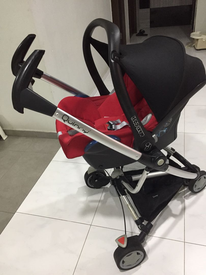 Quinny zapp with maxicosi infant car seat, Babies & Kids, Strollers