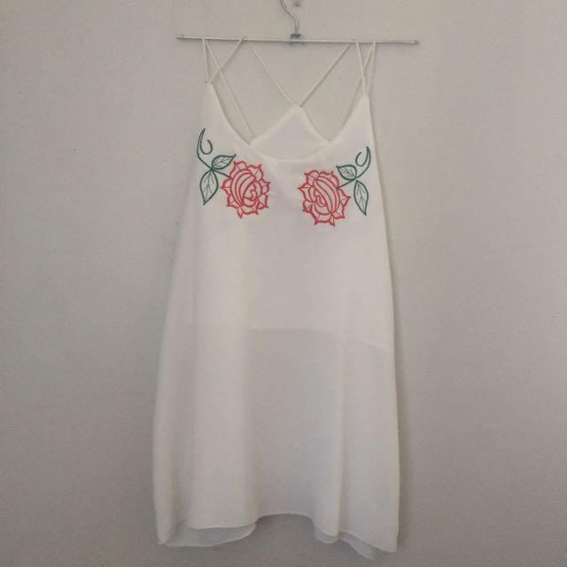 Rose Halter Top