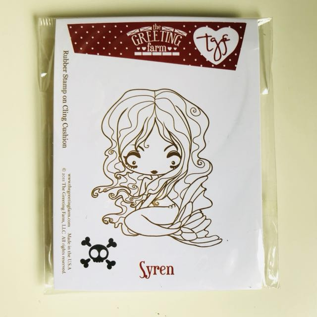 Rubber stamp by the greeting farm syren creeper crew design photo photo photo photo m4hsunfo
