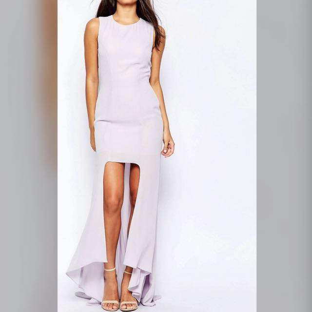 [⚡️SALE] Asos hi low maxi dress with train #hot80