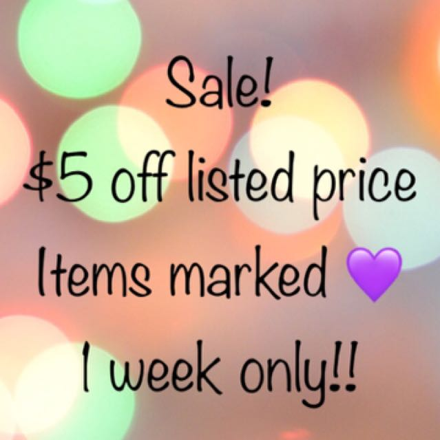 Sale!  💜need to clear out 💜