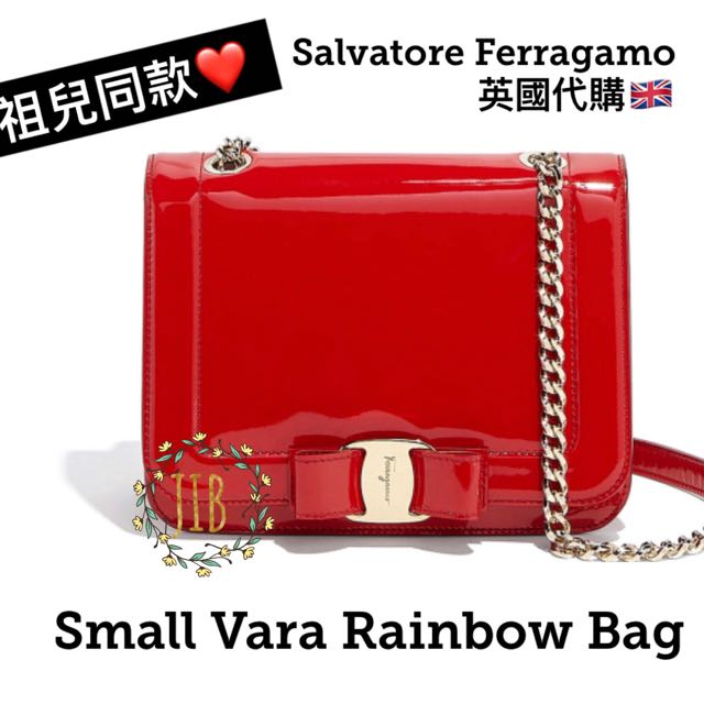 92c31f6223ce Salvatore Ferragamo ❤ SMALL VARA RAINBOW BAG