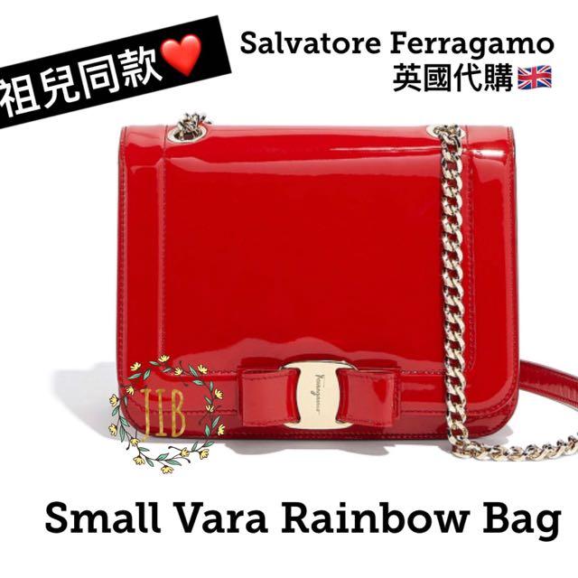 Salvatore Ferragamo ❤ SMALL VARA RAINBOW BAG 331b9c1f8c5c0