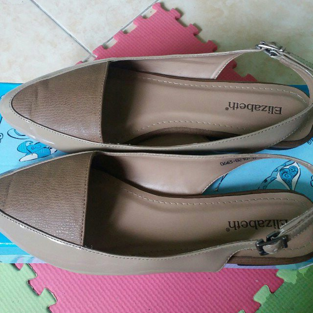80cf206779a0 Sepatu Sandal   Flatshoes Elizabeth Uk 37
