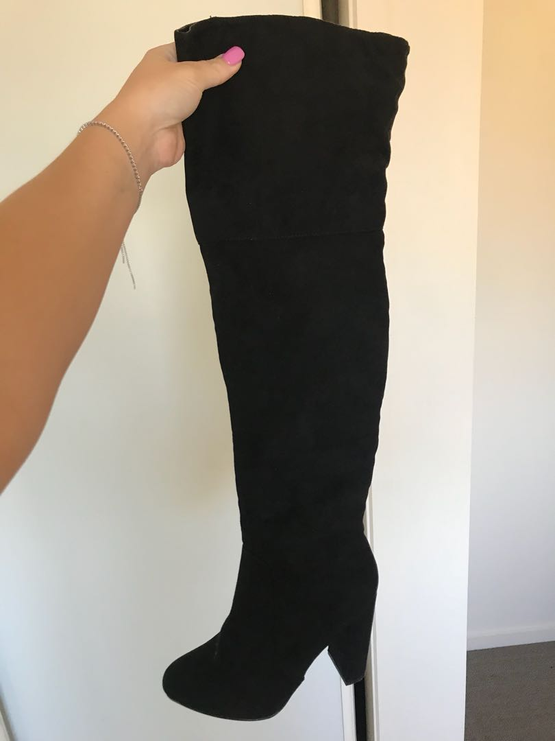 Sexy knee high boots size 7