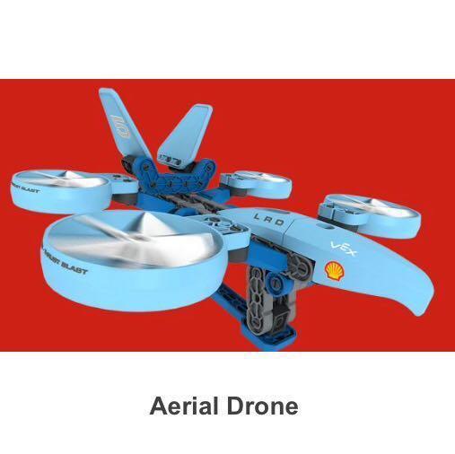 SHELL V-POWER SPACE EXPLORERS Lego-like Aerial Drone