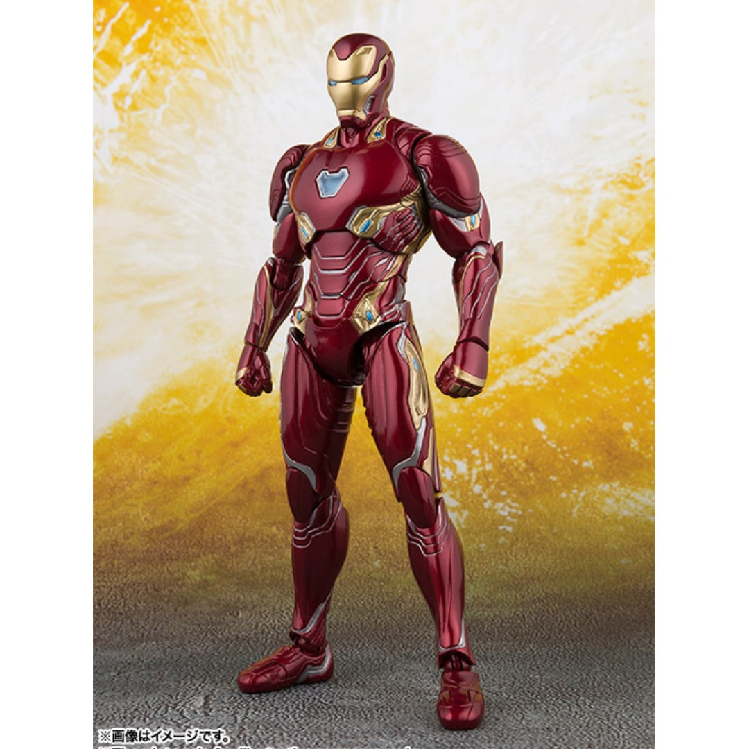 s.h.figuarts iron man mark 50 (avengers: infinity war), toys & games