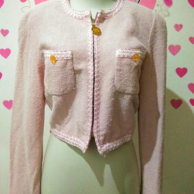 Soft Pink Blazer