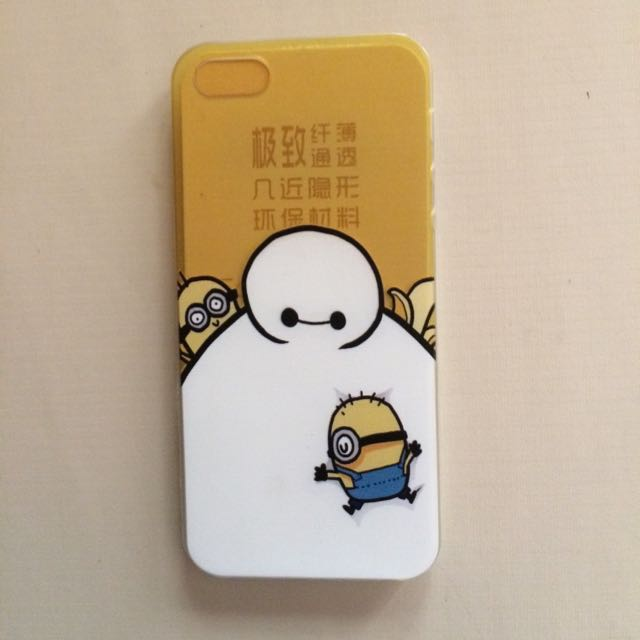 Softcase Baymax For Iphone 5s