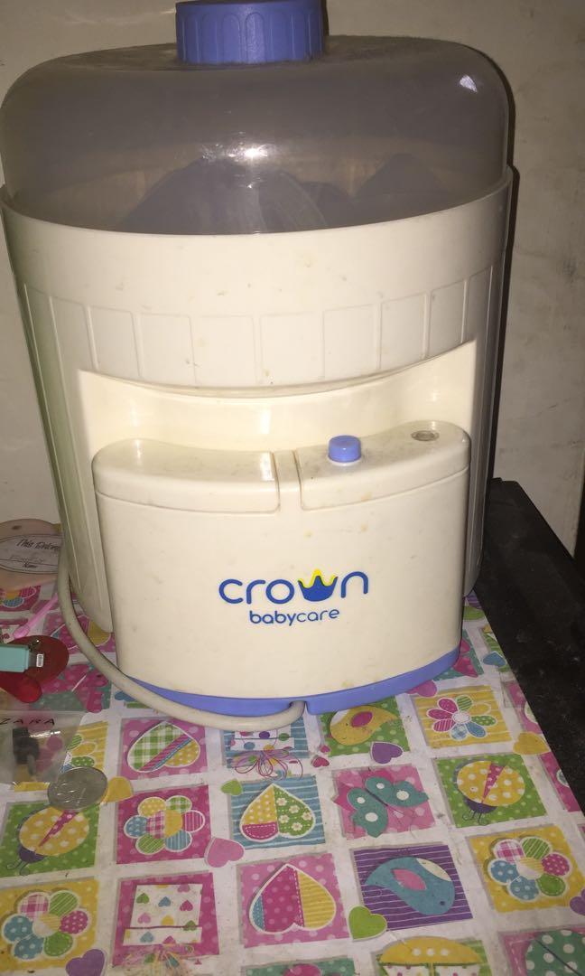 steril botol susu crown