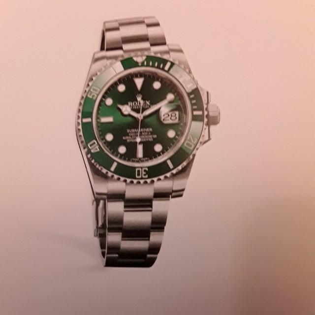 Submariner Date (Green Hawk)