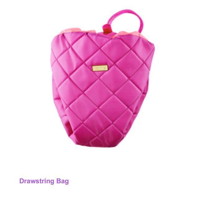 Tarte drawstring bag
