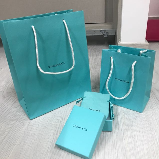 7808e3497b Tiffany and co paper bag and paper box and pouch, Luxury ...