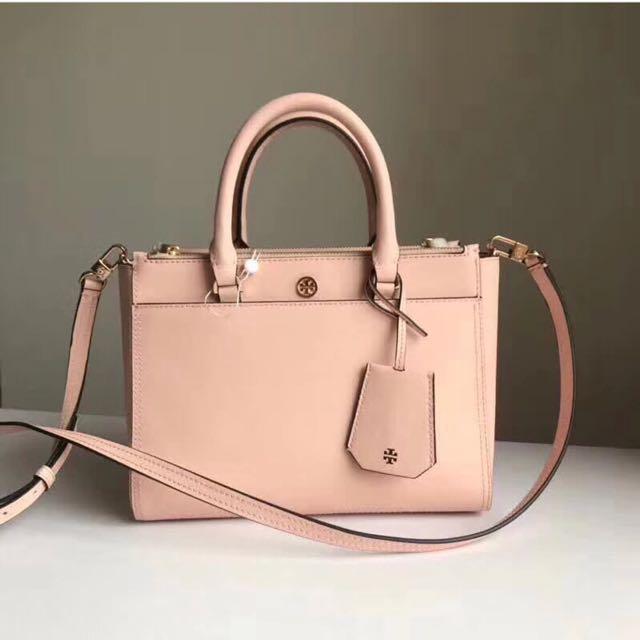 Tory Burch Robinson Double Zip Bag