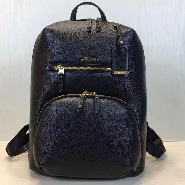 Tumi Halle Leather Backpack