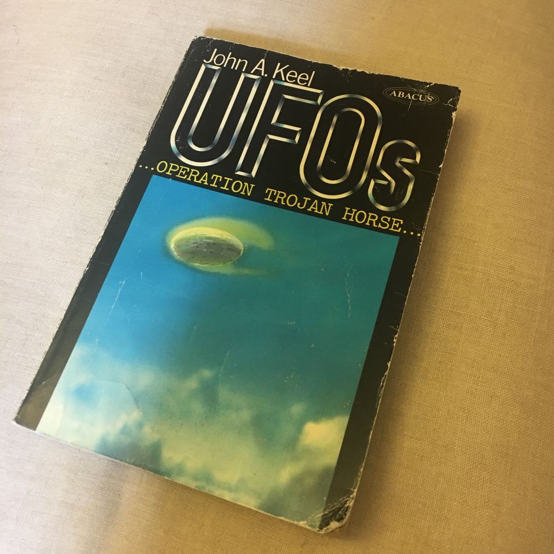 'UFOs' Book by John A. Keel