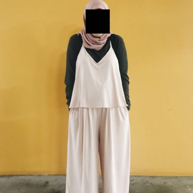 a2a165b5e43f Uniqlo WOMEN Camisole Jumpsuit
