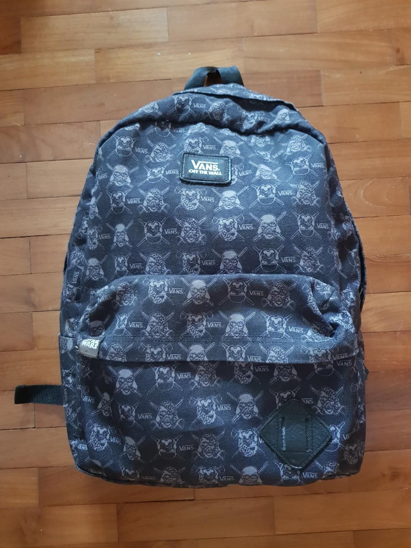 4922bcc247 Vans x Star Wars Old Skool Backpack, Men's Fashion, Bags & Wallets ...