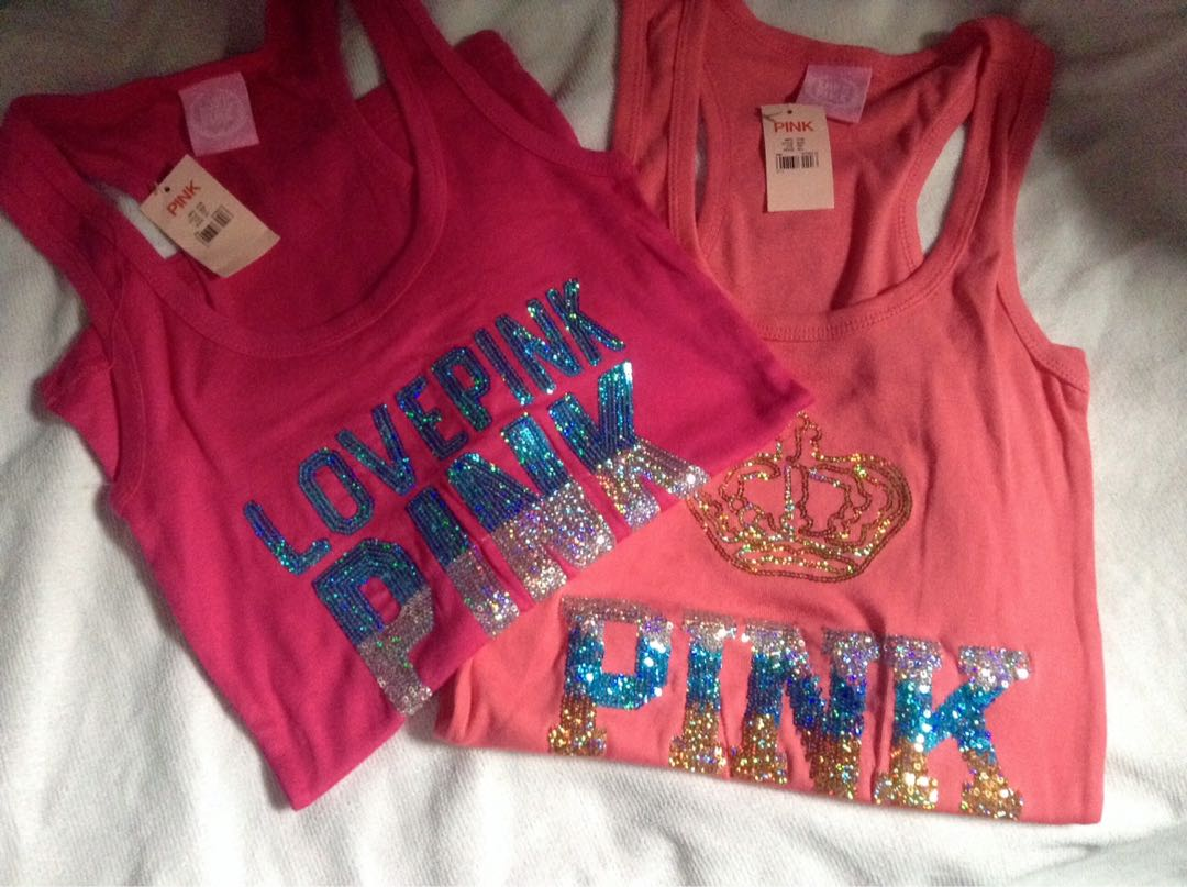 VS Pink Racerback