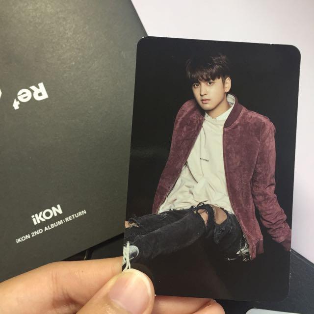[WTT] iKON : RETURN ALBUM - Chanwoo photcard