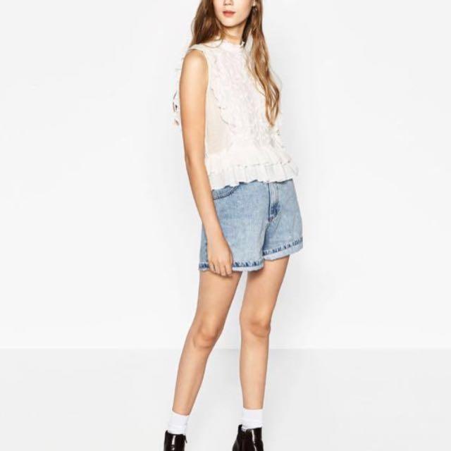 Zara Frills Top