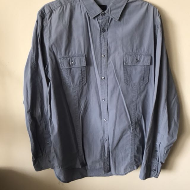 Zara man dress shirt: size XL