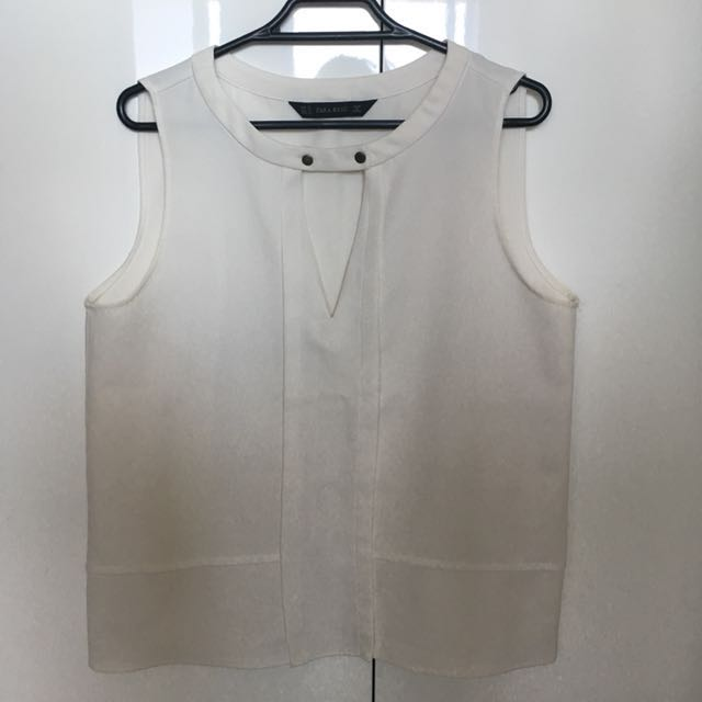 Zara Sleeveless Shirt