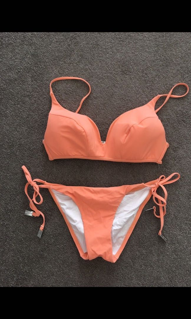 Zimmermann Women's Bikini Bather Top and Bottom size 1