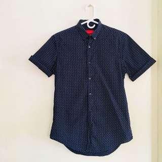 Zara Man Printed Oxford Shirt