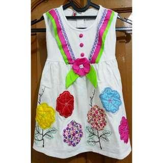 Dress Anak (Tanpa Lengan)