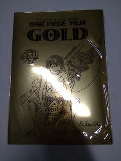 One Piece Film Gold A4 folder