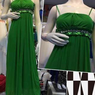 Party long Gown P650 Maganda tela