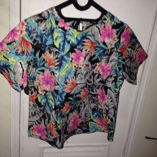 Local Brand Indonesia Floral blouse