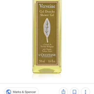 Loccitane shower gel