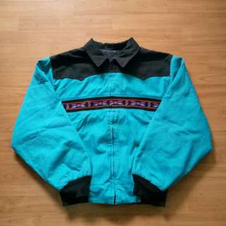 Vintage Bomber Jacket Navajo made in USA