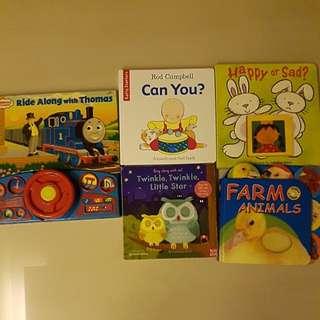 Baby books bundle 7 titles