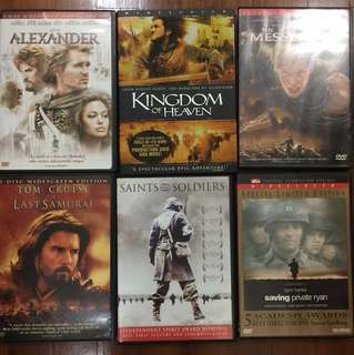 DVD Movies - kingdom of heaven