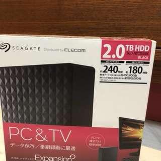 Elecom 2TB hard disk