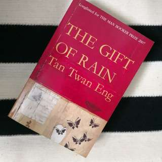 FREE Postage 💌 The Gift of Rain by Tan Twan Eng (longlisted for the Man Booker Prize 2007)