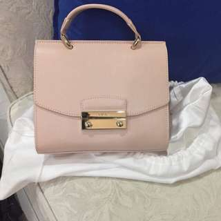 💯Furla Julia with long chain handle