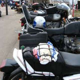 Net hook for Motorcycle