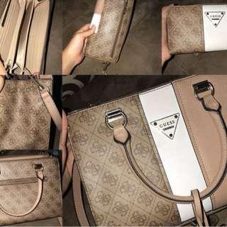 Guess Set (wallet & Bag)