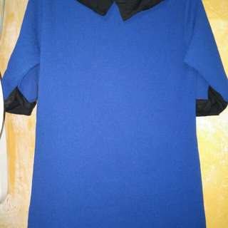YAYA dub preloved blue dress