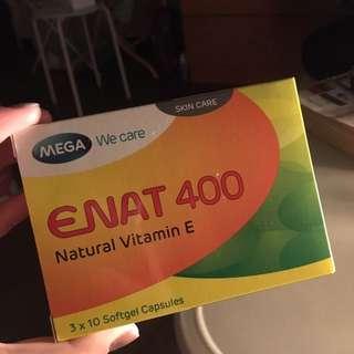Natural Vitamins E (400IU)