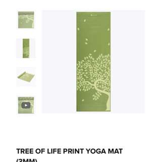Tree of life yoga mat
