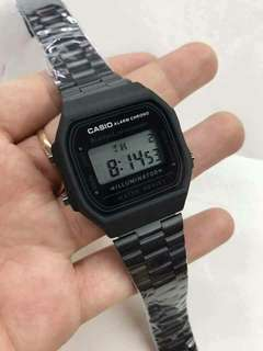 Casio Vintage Watch Matte Black