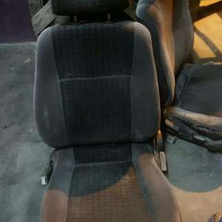 Seat Back and Front + Door Trim with Power Window Motor and Switch