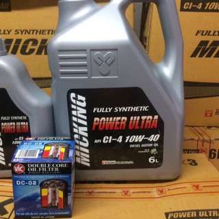 Micking Fully Synthetic Oil