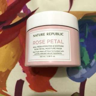 Nature Republic Rose Petal Mask